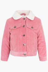 Losan FA20 Pink Micro Corduroy Jacket