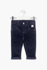 Losan FA20 Navy Skinny Fit Cords