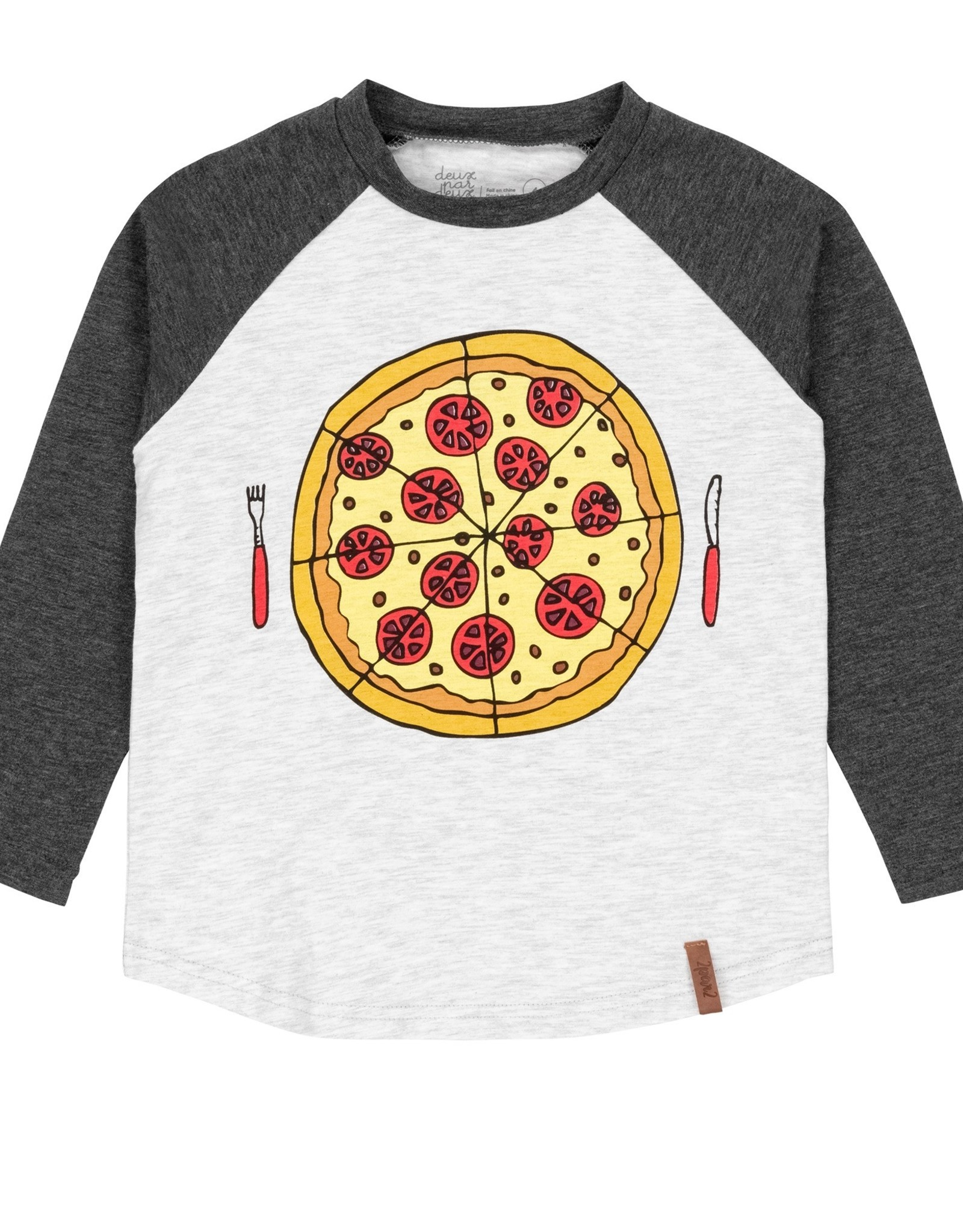 DeuxParDeux FA20  Pizza Lover Raglan