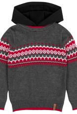 DeuxParDeux FA20  Knitted Sweater w/ Hood