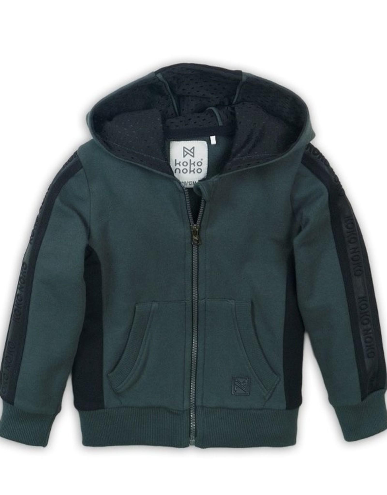 Koko Noko FA20 Full Zip Green Hoodie