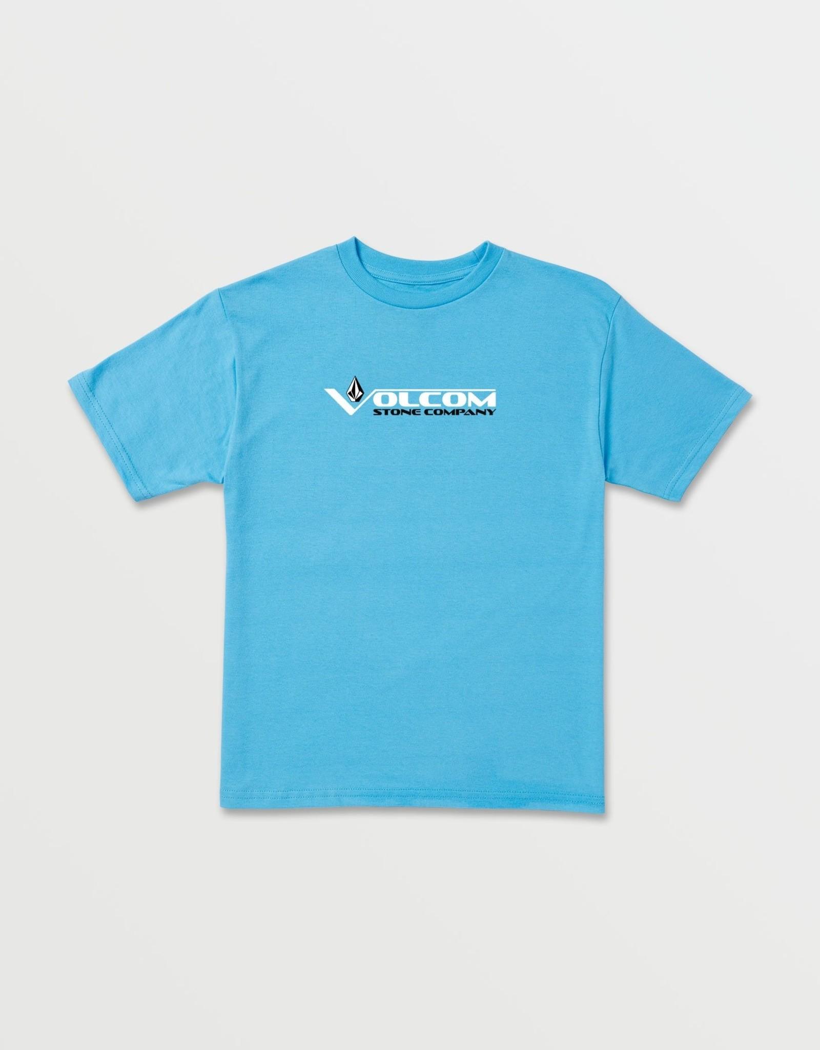 Volcom FA20 Vee Stone Short Sleeve Tee- Aqua
