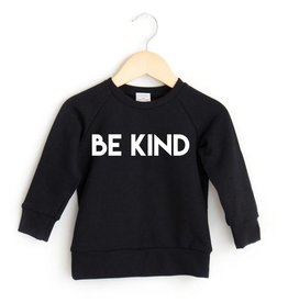 Posh & Cozy FA20  Be Kind Crew Youth - Black