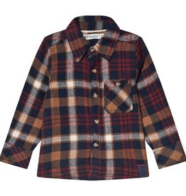 MinyMo FA20 Boys Check LongSleeve Shirt