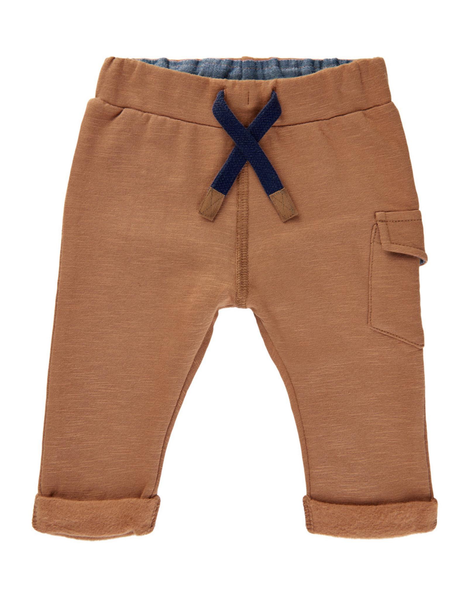 MinyMo  FA20 Baby Brown Sweat Pants