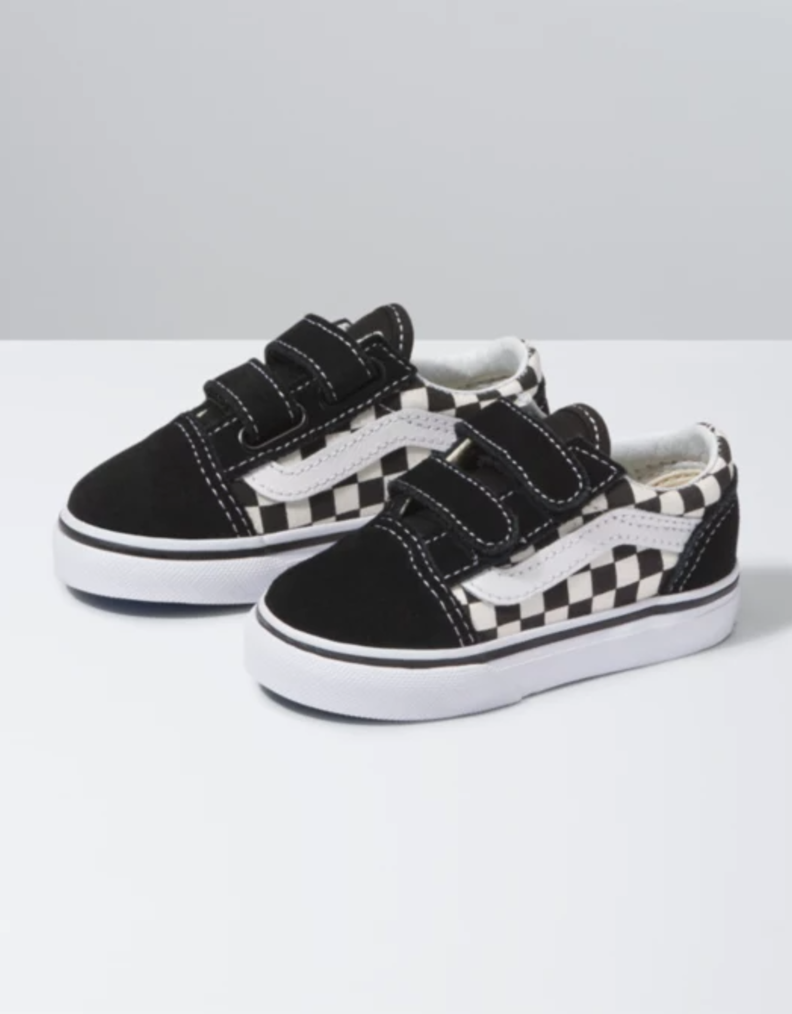 Vans Toddler Old Skool V Primary Check Blk/Wht
