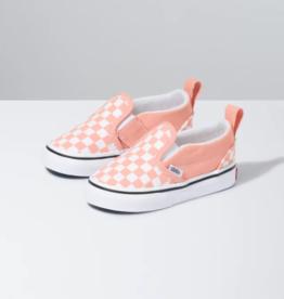 Vans Toddler Slip-On V Checker Salmon