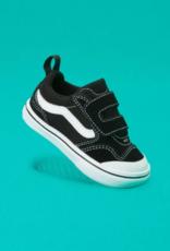 Vans Toddler Comfycush New Skool Black/White
