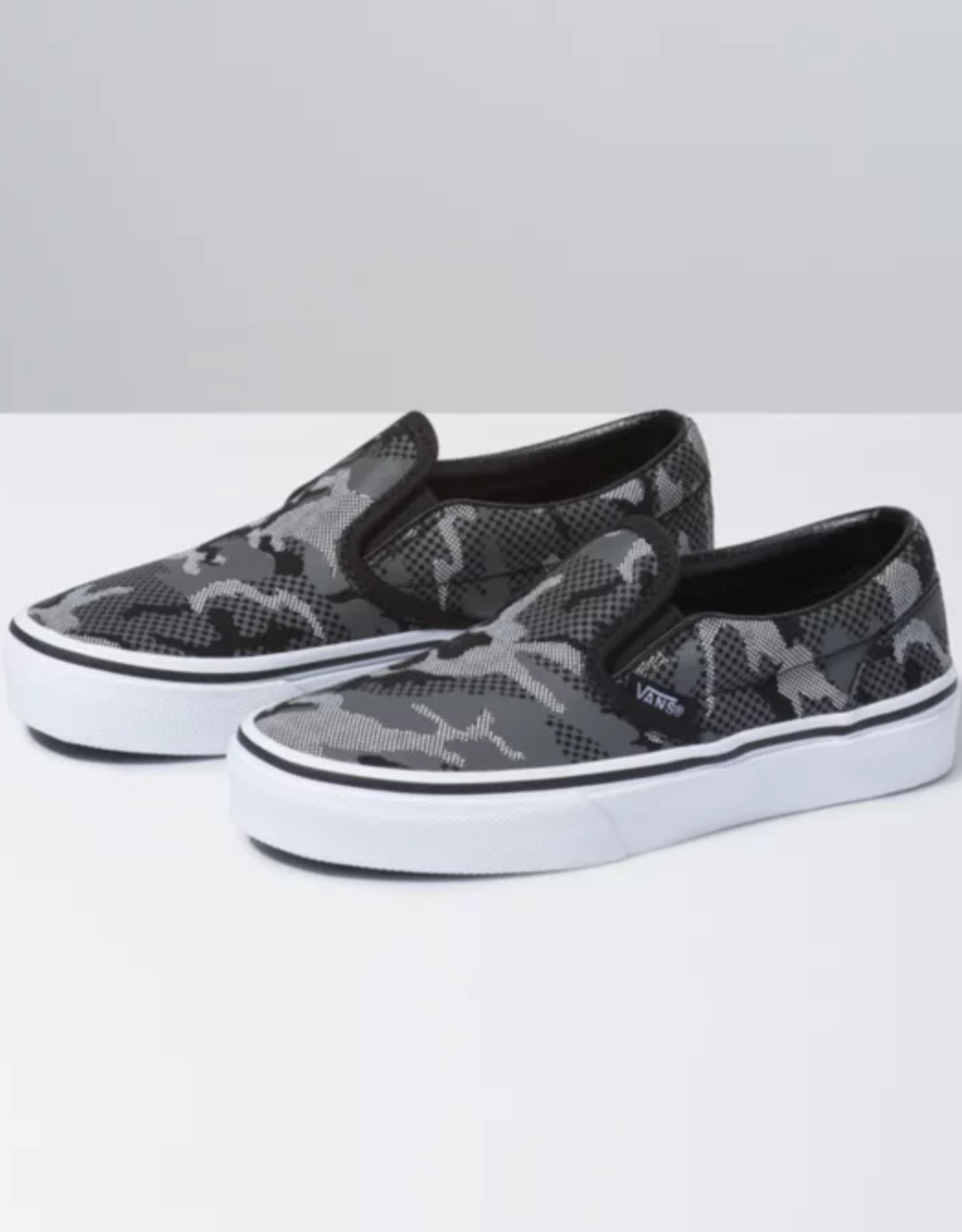 Vans Kids Slip-On Pattern Camo