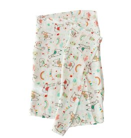 LouLou Lollipop Single Swaddle - Llama