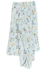 LouLou Lollipop Single Swaddle - Up Up Away