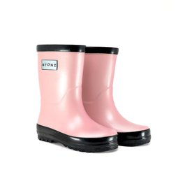 Stonz FA20 Rain Boots - Metallic Pink