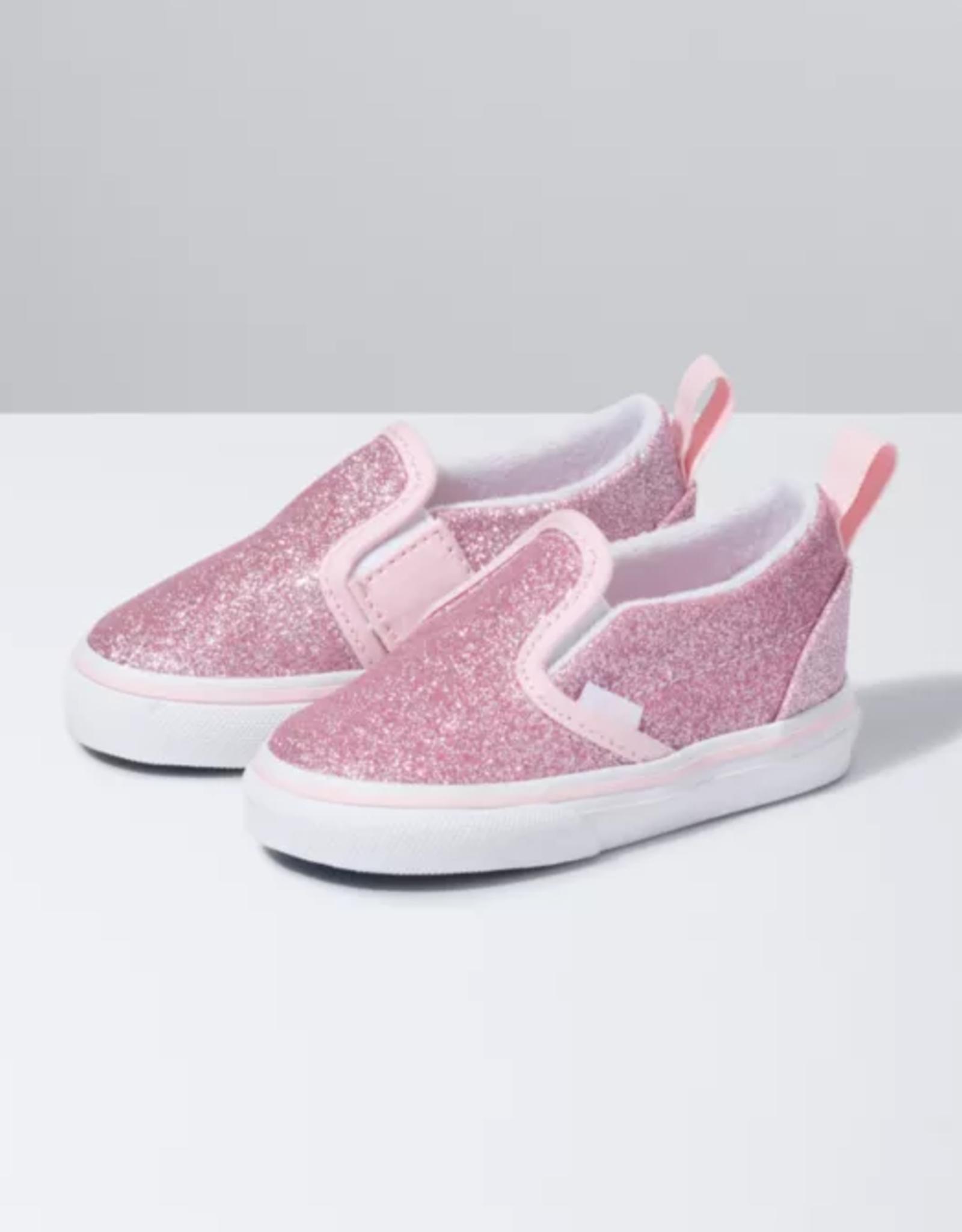 Vans Toddler Slip-On Pink Glitter