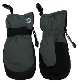 CaliKids FA20 Grey Waterproof Mitten w/Clip