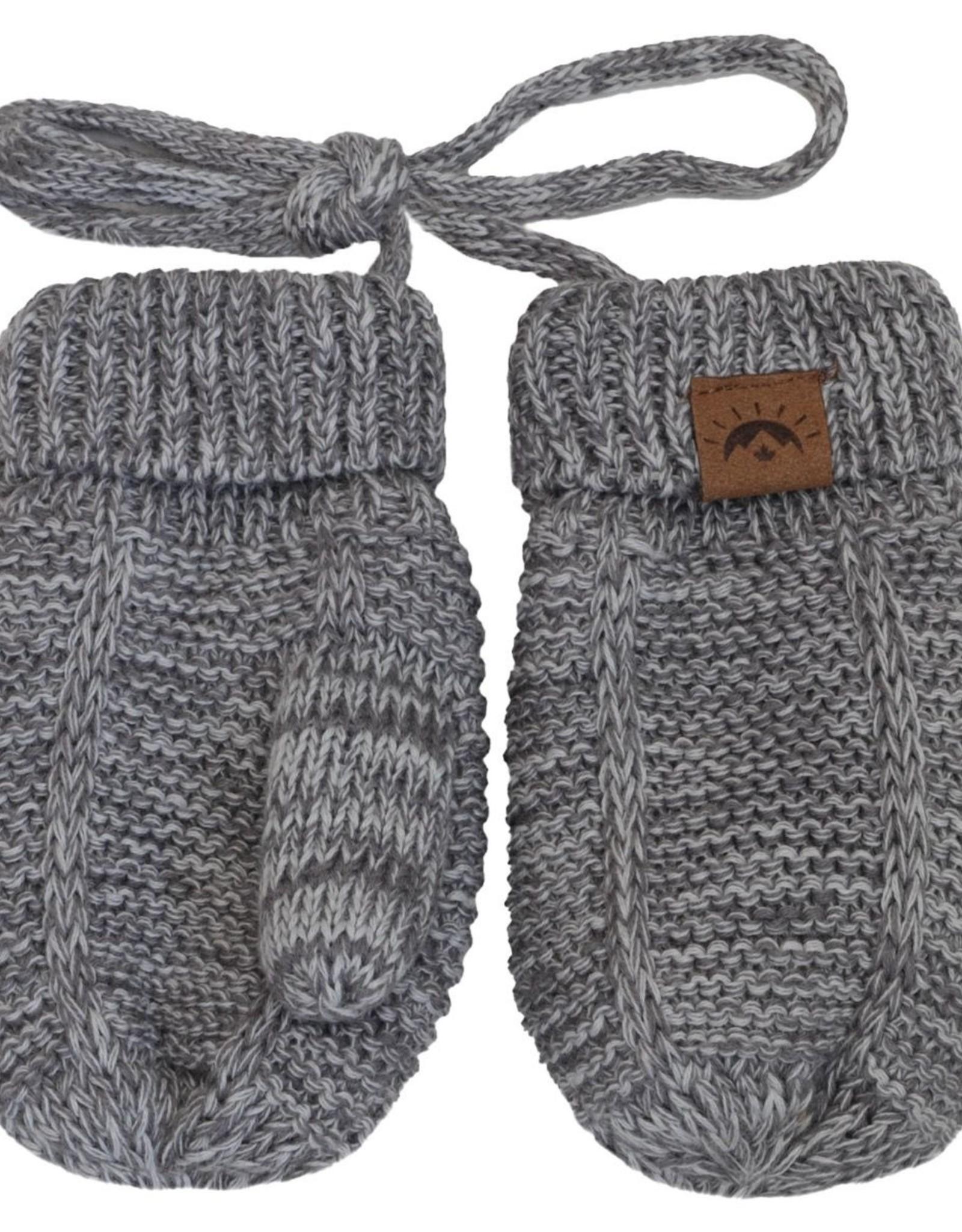CaliKids FA20 Grey Knit Mitten