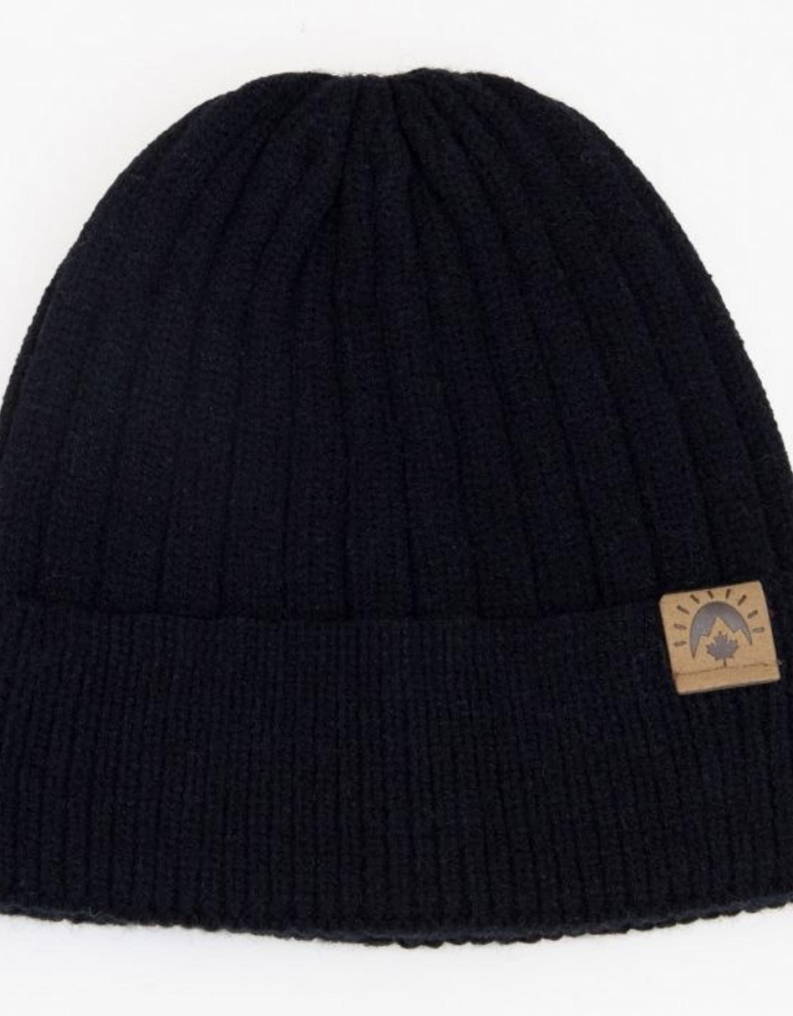CaliKids FA20 Black Soft Knit Hat