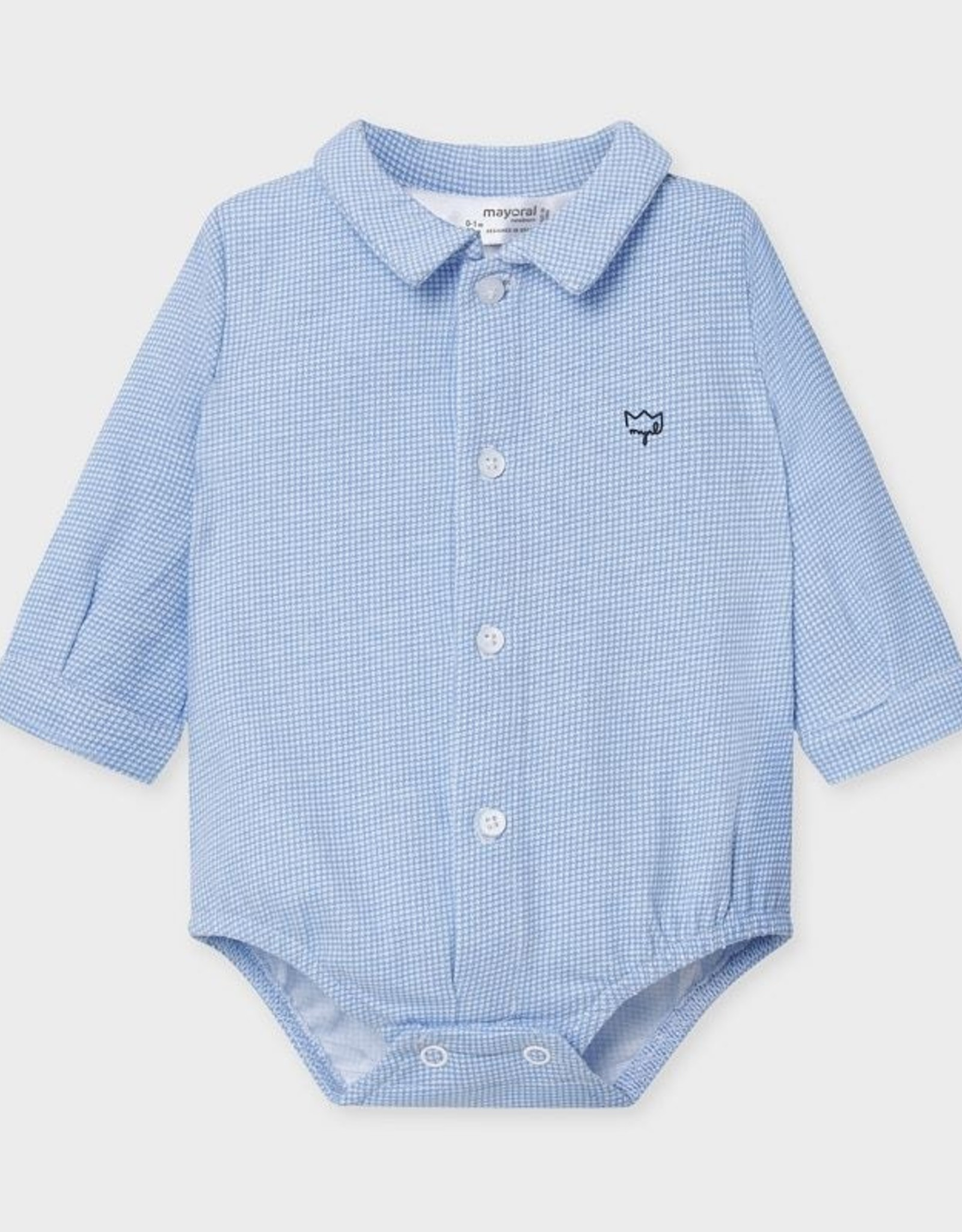 Mayoral FA20 Blue Collared Bodysuit