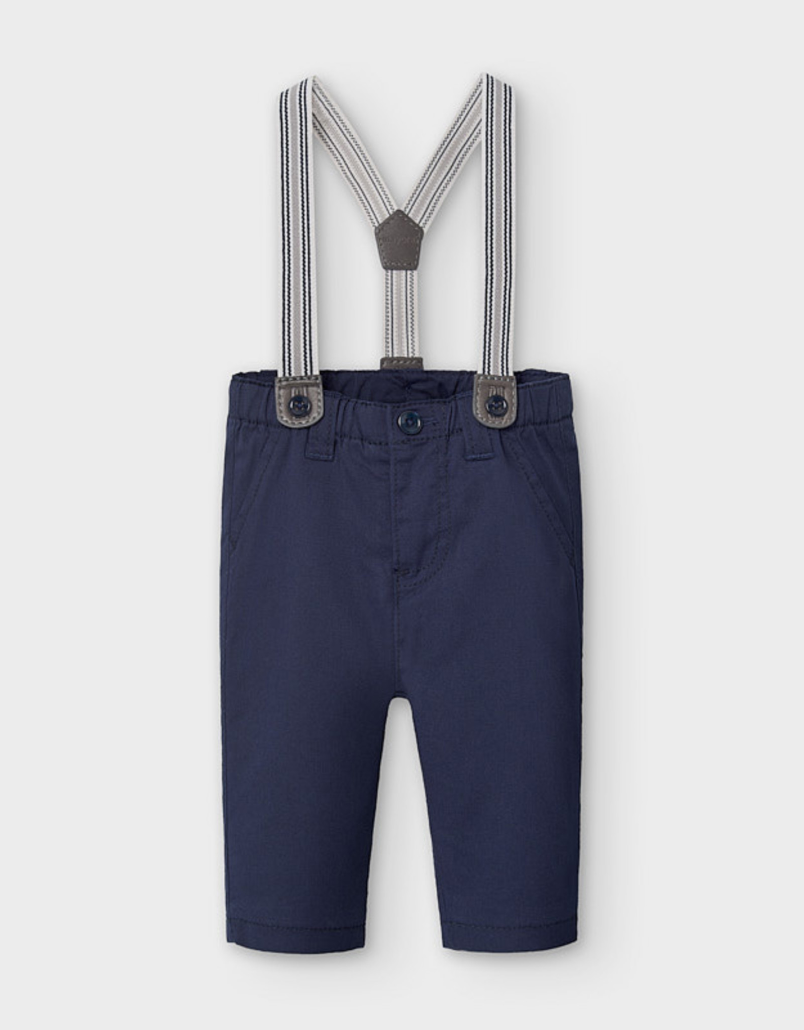 Mayoral FA20 Navy Pants w/Suspenders