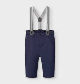Mayoral FA20 Navy Pants w/Suspenders