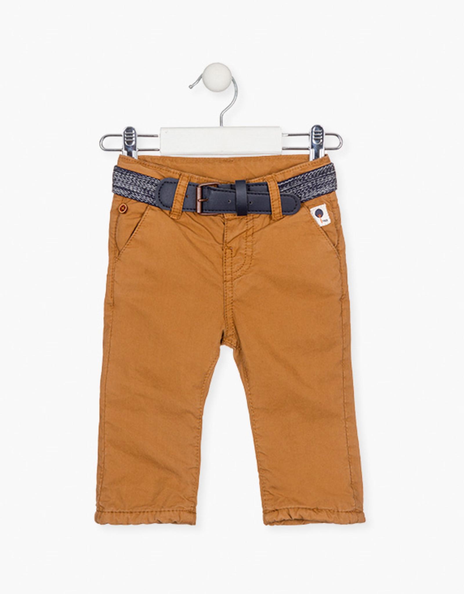 Losan FA20 Brown Pants w/Belt
