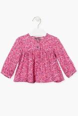 Losan FA20 Floral Pink Blouse