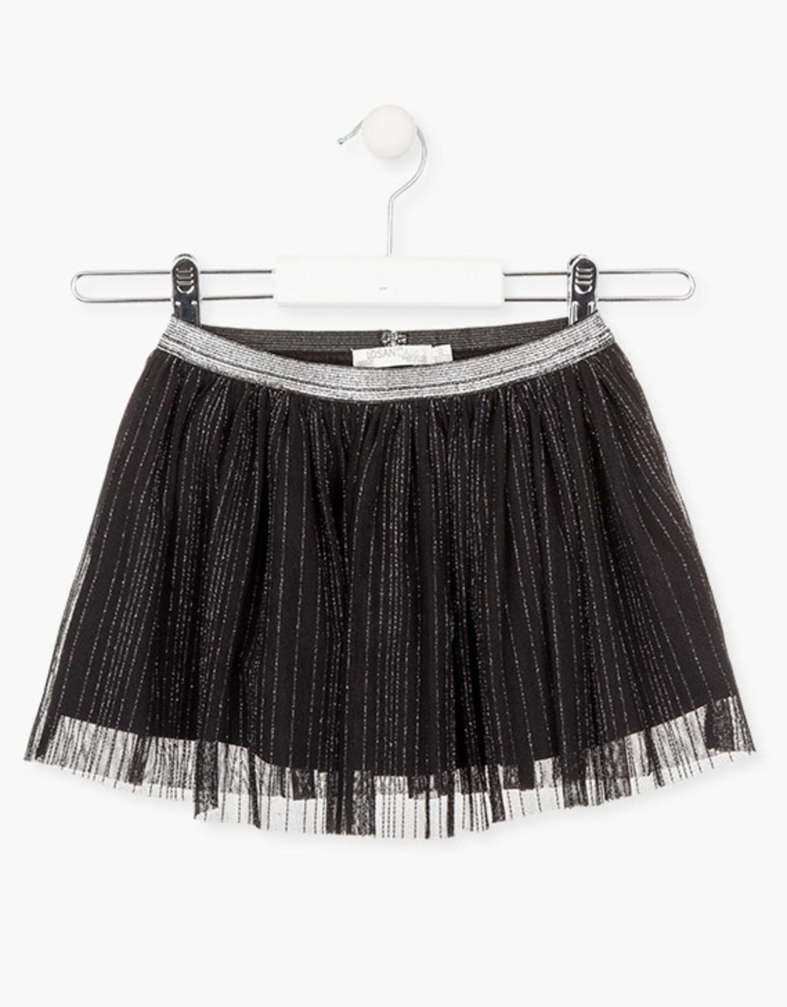 Losan FA20 Black & Silver Tulle Skirt