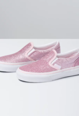 Vans Kids Slip-On Pink Glitter