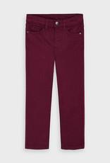 Mayoral FA20 Burgundy Slim Fit Jeans