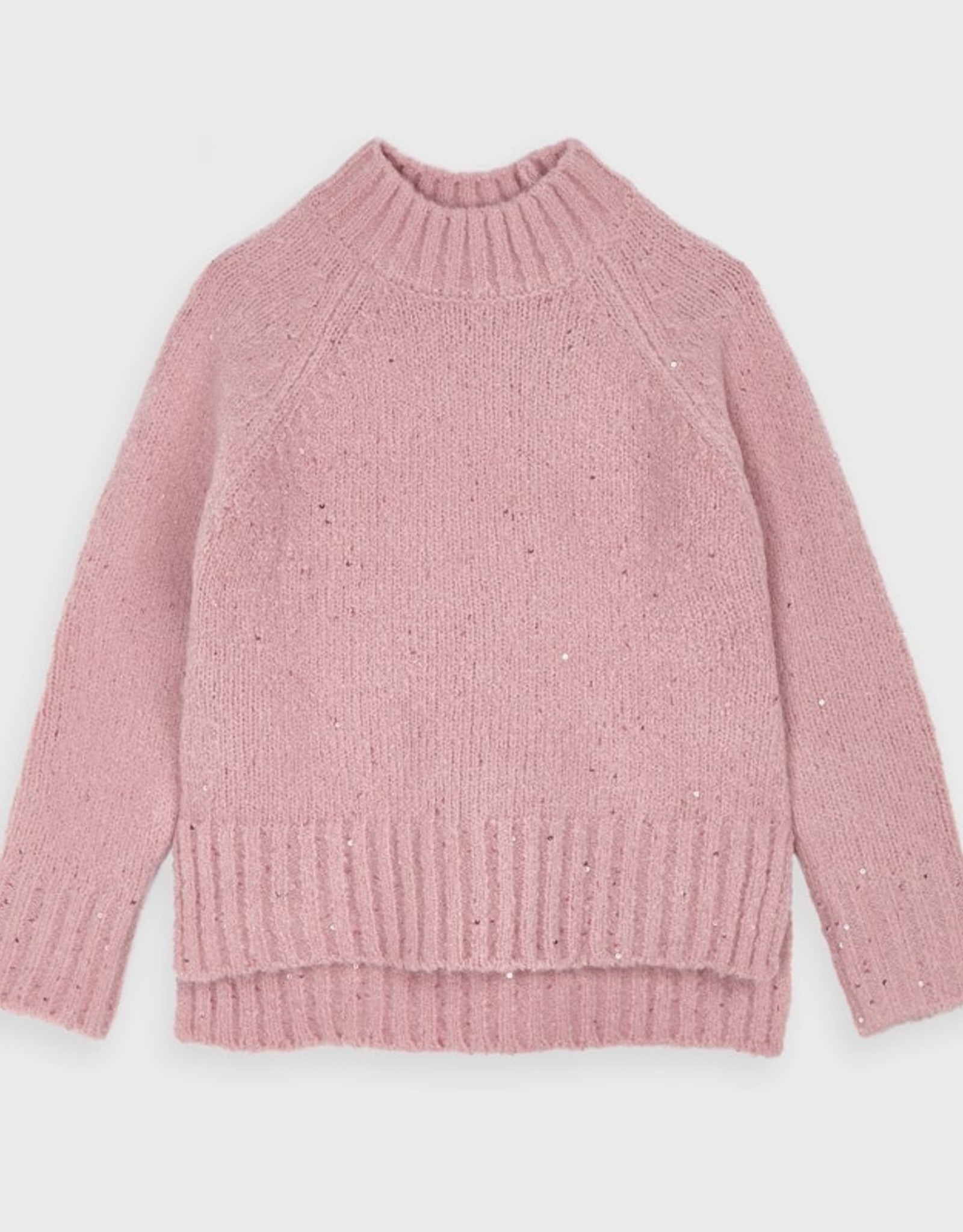 Mayoral FA20 Pink Sequins Sweater