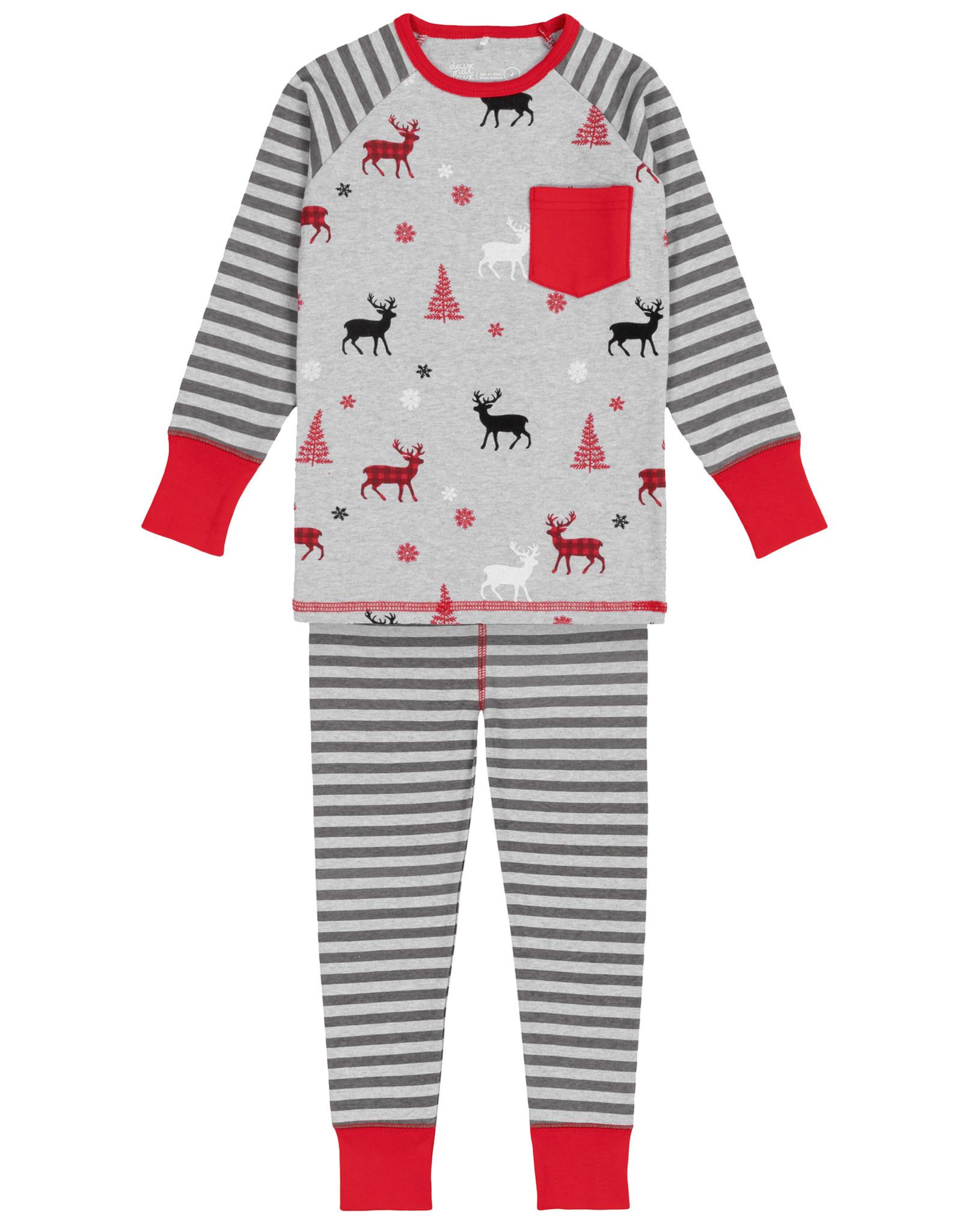 DeuxParDeux FA20 Christmas Deer PJ Set
