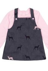 DeuxParDeux FA20 Toddler Shirt & Doe Jumper Set
