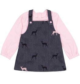 DeuxParDeux FA20 Toddler Shirt & Doe Jumper Set