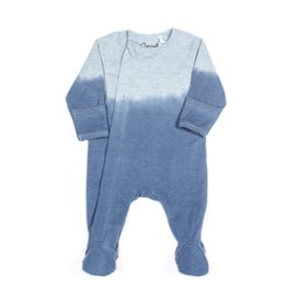 FA20 Blue Dip Dye Footie Sleeper