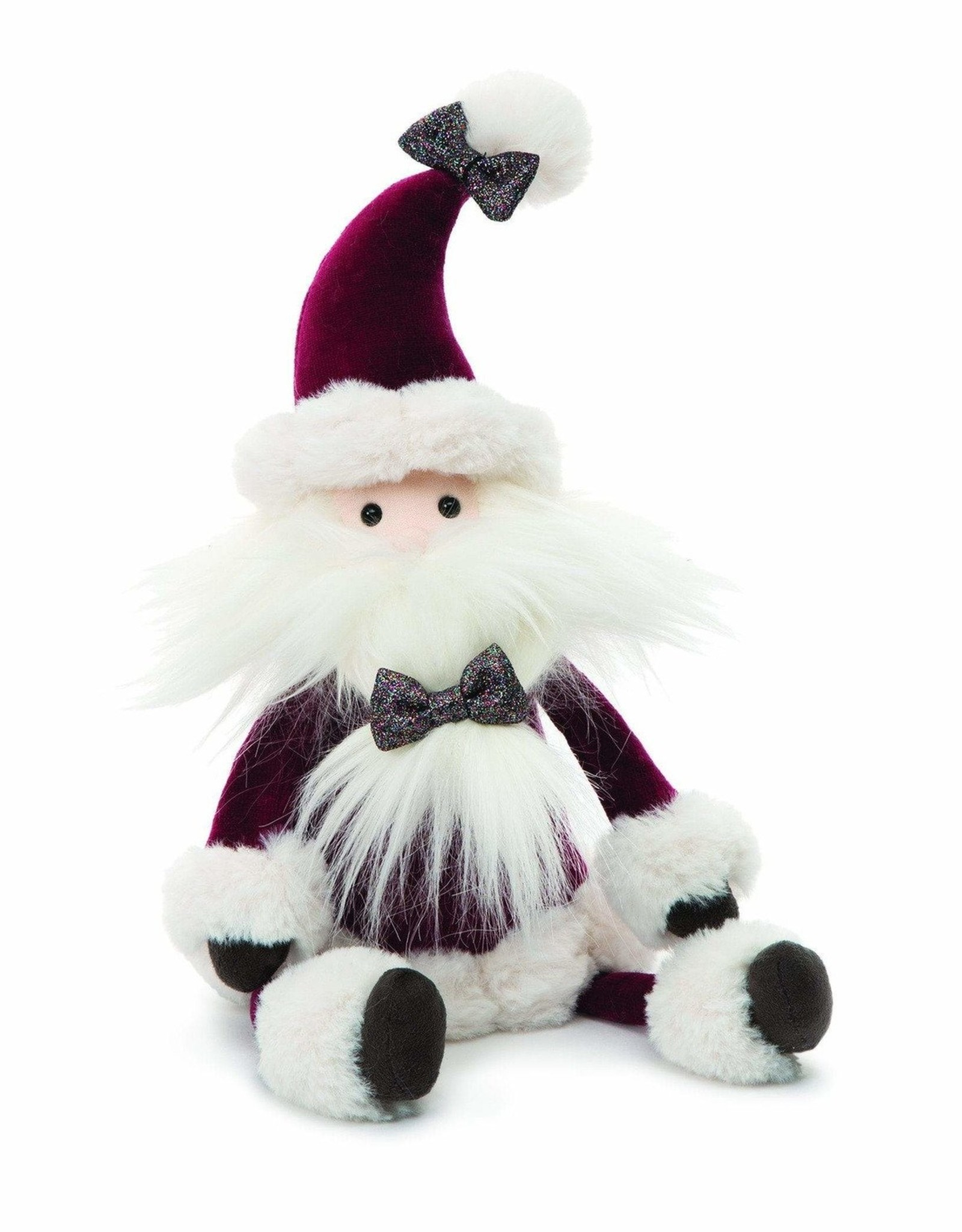 Jelly Cat FA20 Med Crimson Santa