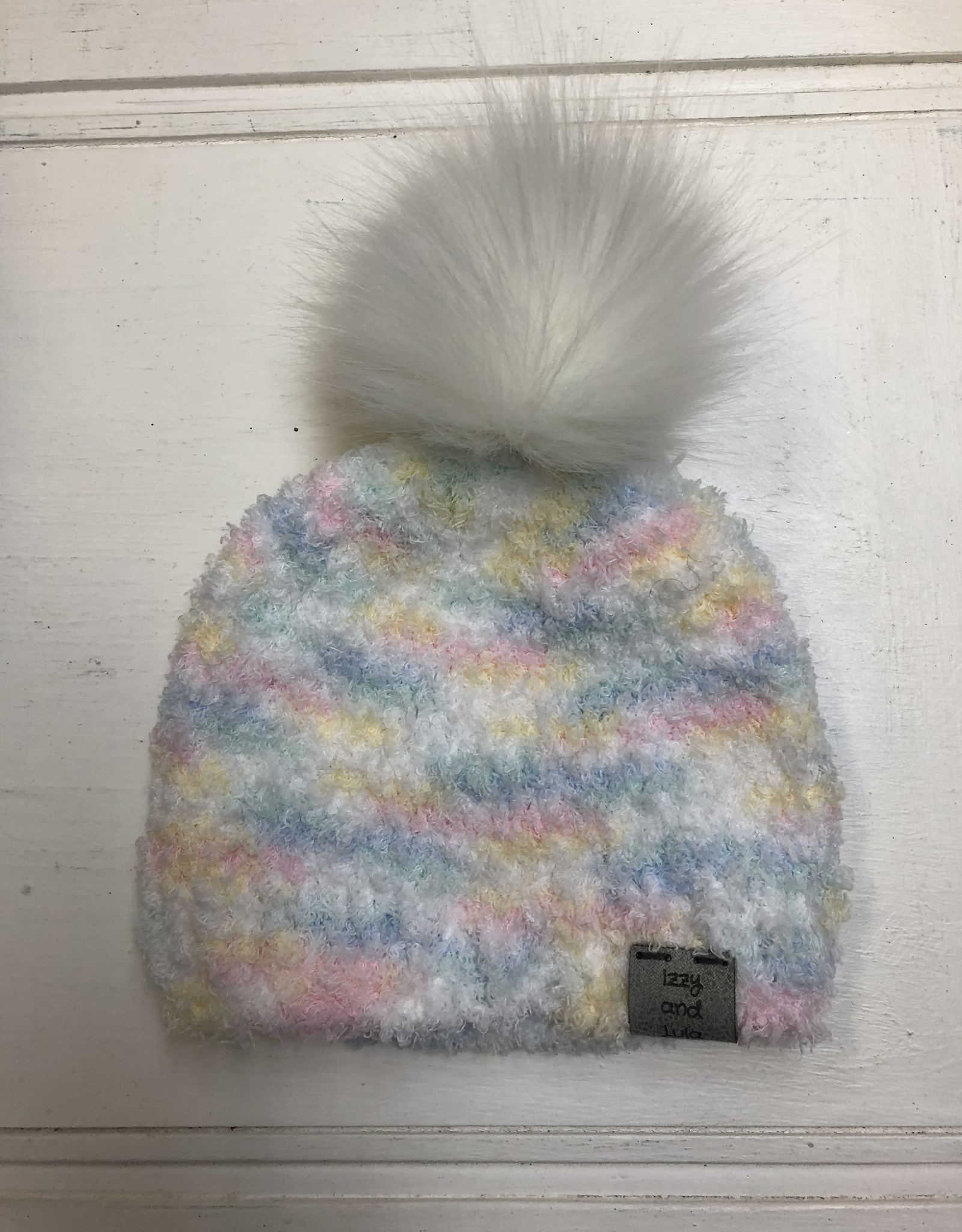 Izzy and Lula Rainbow w/Pom Toque
