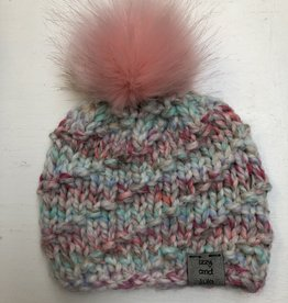 Izzy and Lula Liz w/Pom Toque 0-24m