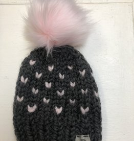 Izzy and Lula Karen w/Pom Toque 0-24m