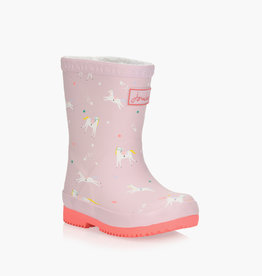 Joules FA20 Baby Welly Pink Unicorns