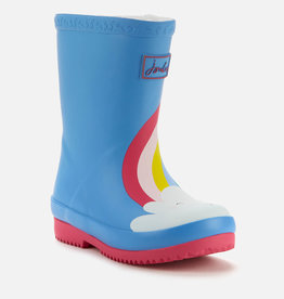 Joules FA20 Baby Welly Blue Rainbow