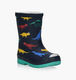 Joules FA20 Baby Welly Navy Dinos