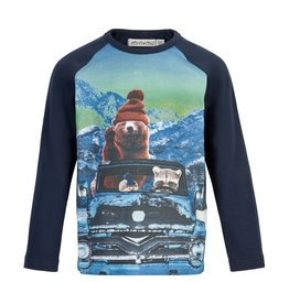MinyMo FA20 Animals in Vehicle Shirt