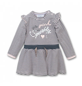 Dirkje FA20 Pink/Grey Striped Dress