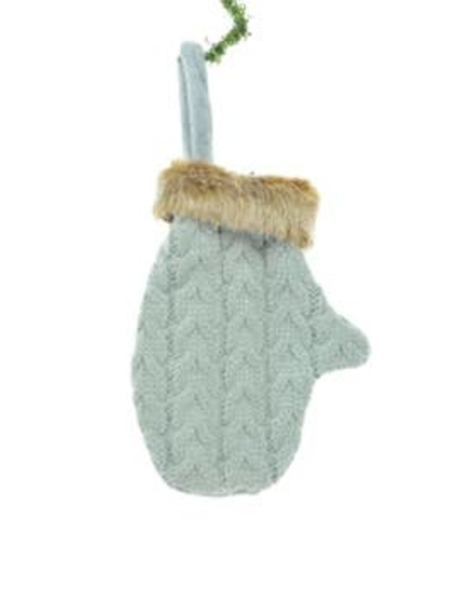 Starlight Trading Co Grey Mitten Ornament