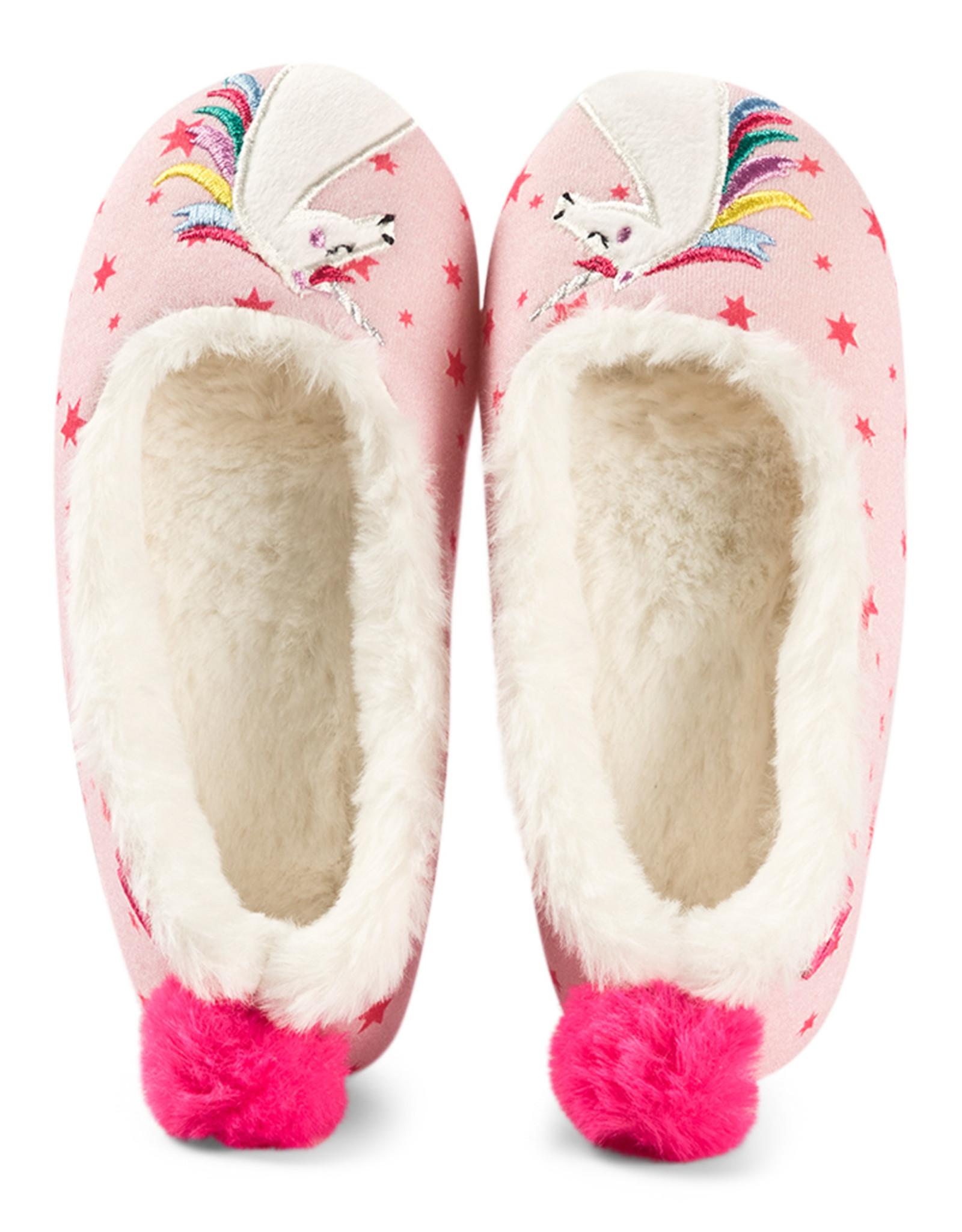 Joules FA20  Unicorn Ballet Slippers