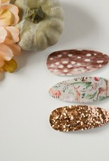 Glitter & Gold Access FA20  3 Snap Clip Set