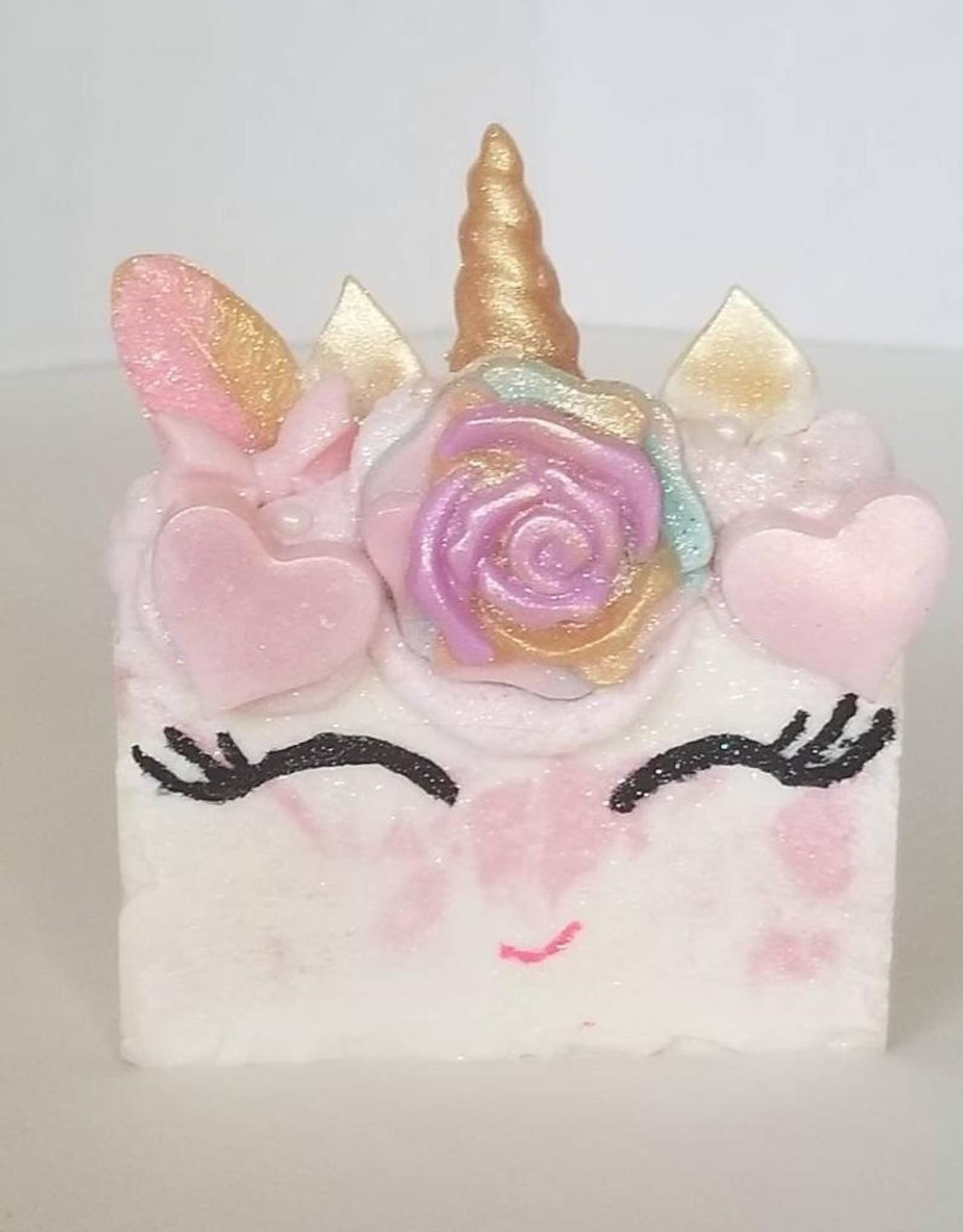 Unicorn FeatherHead Soap - Vanilla Cupcake