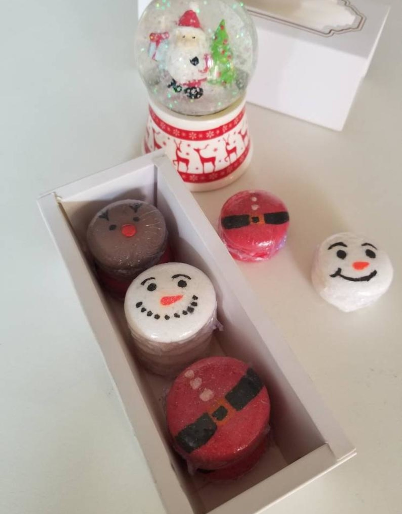 Christmas Bath Bombs 3pk Cello