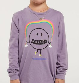Volcom FA20 Girl's Made from Stoke - Long Sleeve Purple