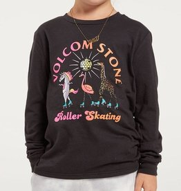 Volcom FA20 Girl's Made from Stoke - Long Sleeve Black