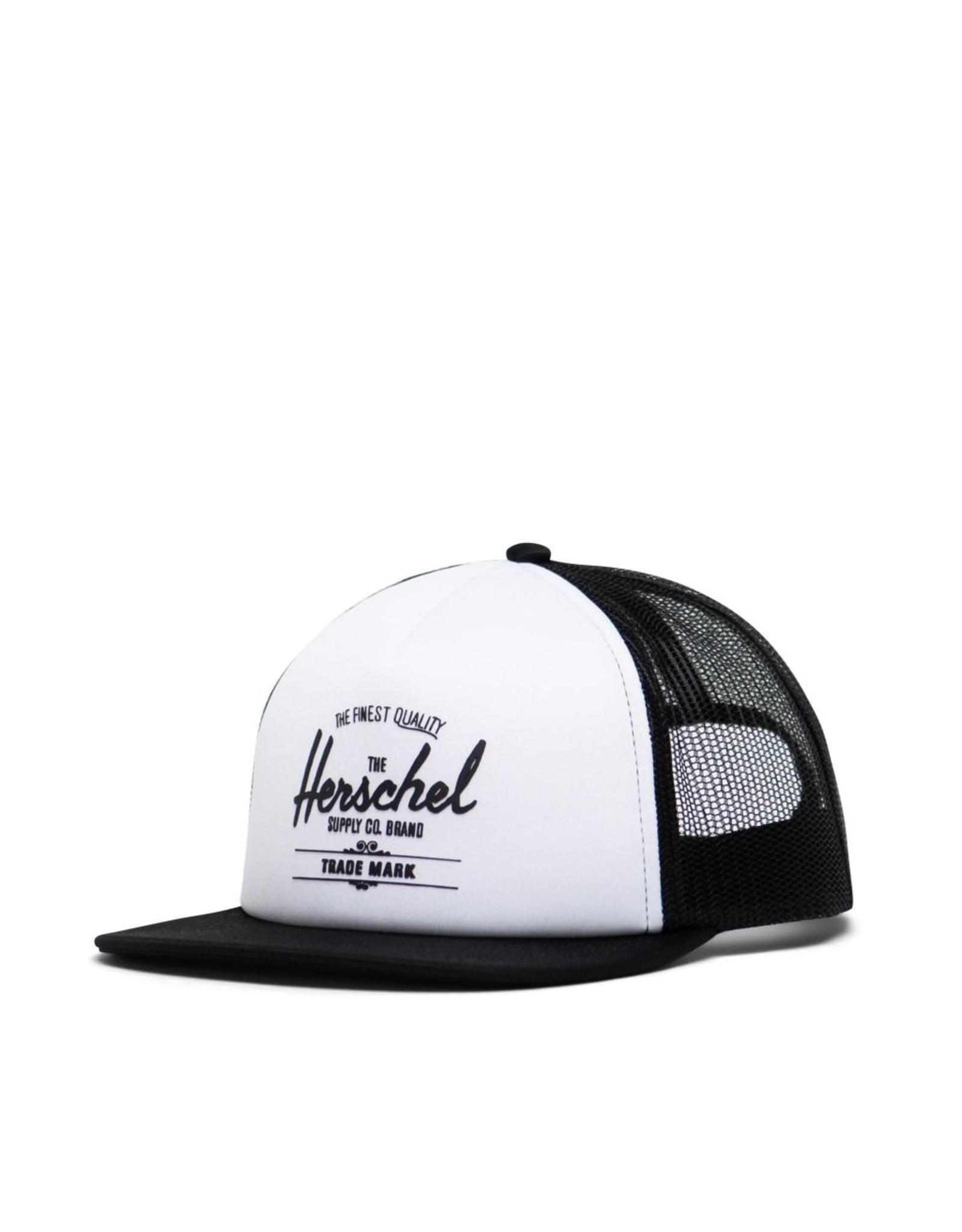 Herschel Supply Co. SP21 White/Black Toddler Whaler Cap 2-5Y